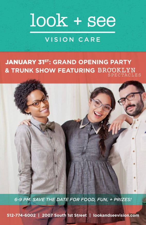 Austin Optometrist Office Grand Opening - Look and See Vision